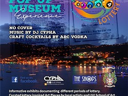VI Lottery Over the Years Popup Museum Experience, Dec 13-15